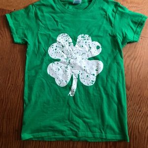 St. Patrick's Day tee.